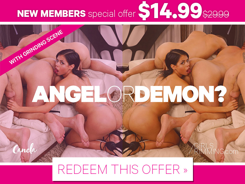 Angel or Demon Special Offer - Girls Rimming New Series!